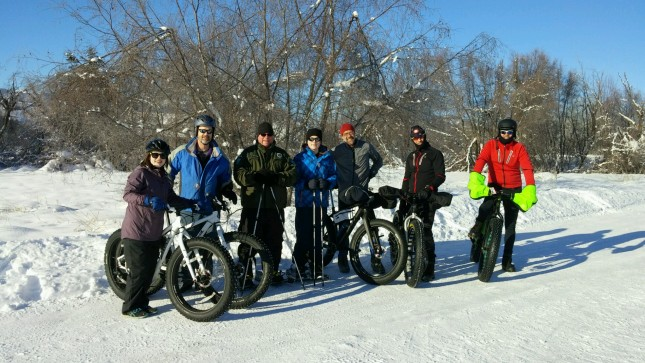 For the second year in a row, fat tire bike enthusiasts enjoyed a First Day ride at Pearrygin Lake S
