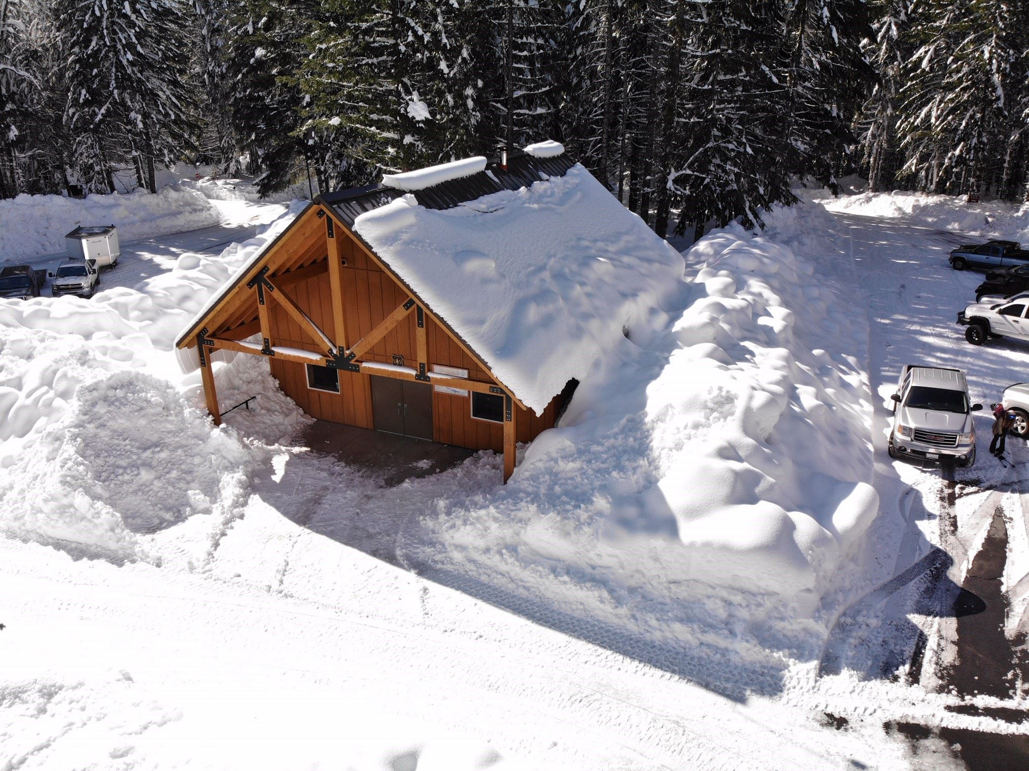Marble mountain shelter