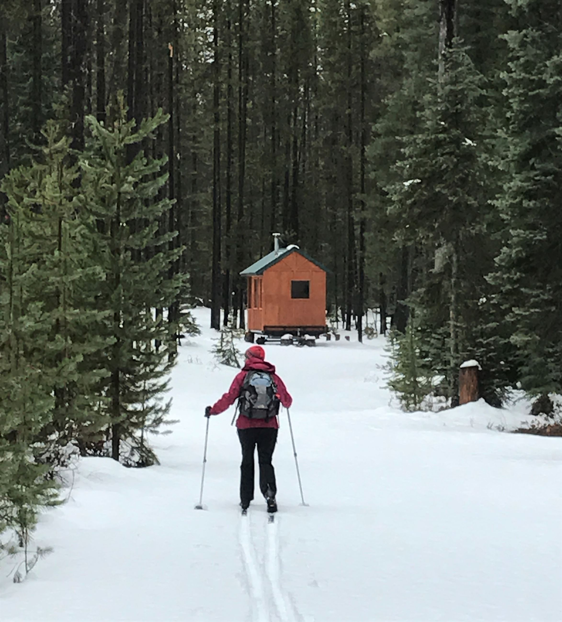 11.18.20 WR Bumping Lake warming hut