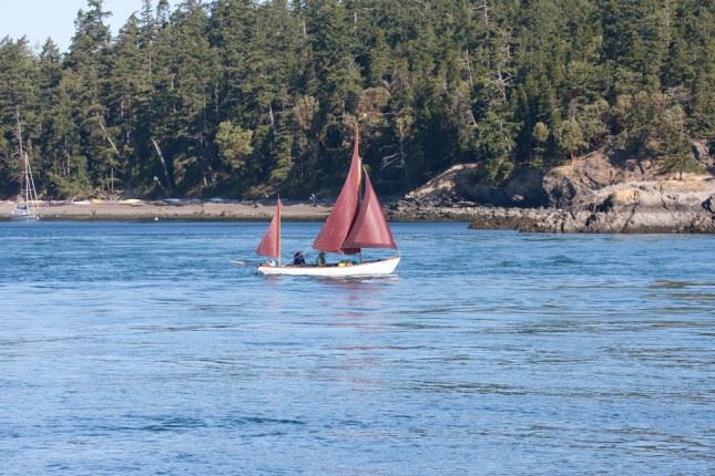 Obstruction Pass boating