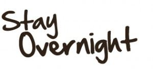 Stay overnight graphic