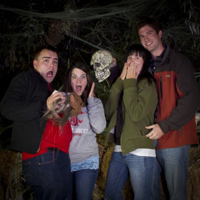 BOO! The Haunted Forest at Sacajawea is a popular fund-raiser and hair raiser too