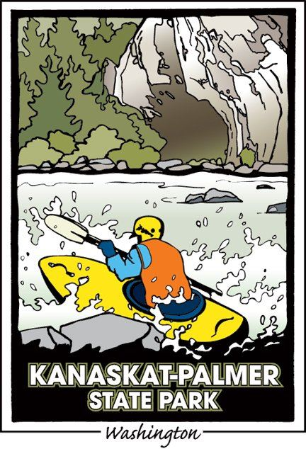 Raft and roar! Kanaskat-Palmer is a white water paradise!
