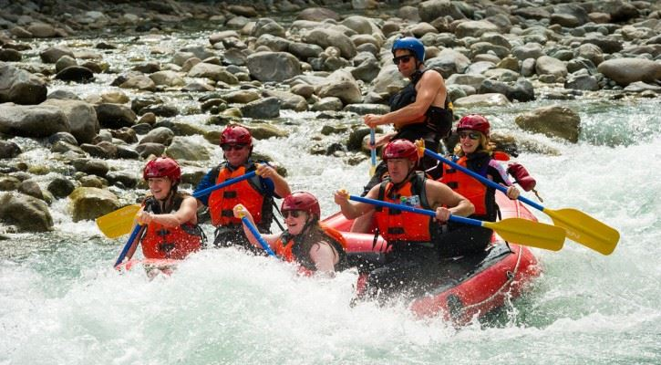 Rafting at Kanaskat-Palmer
