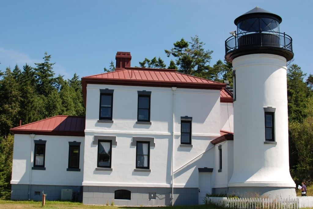Admiralty Head Lighthouse at Fort Casey Historical State Park