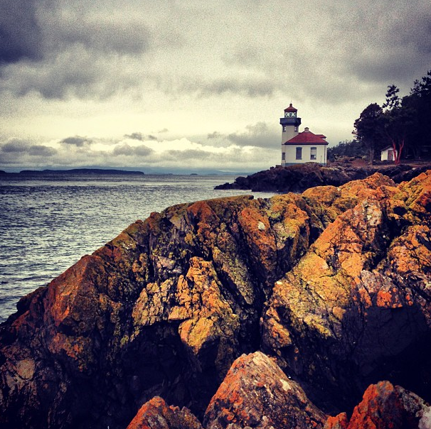 Lime Kiln Point State Park on San Juan Island