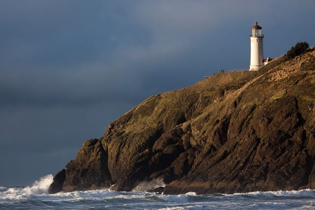 The North Head Lighthouse at Cape Disappointment State Park