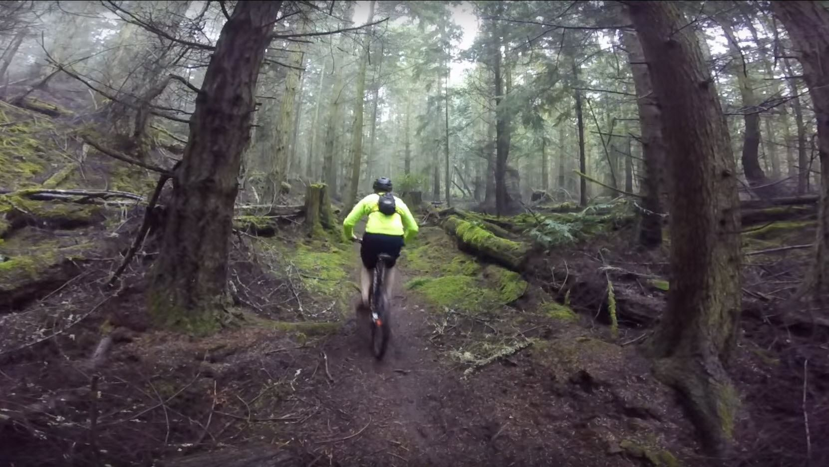Ebey Mountain Biking YouTube capture