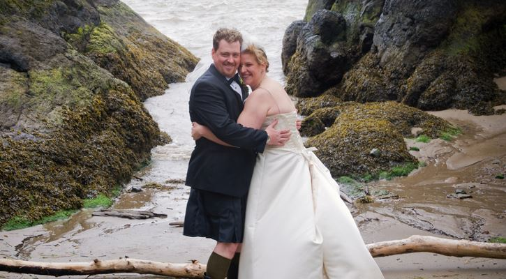 Michelle Scott Cape Disappointment wedding