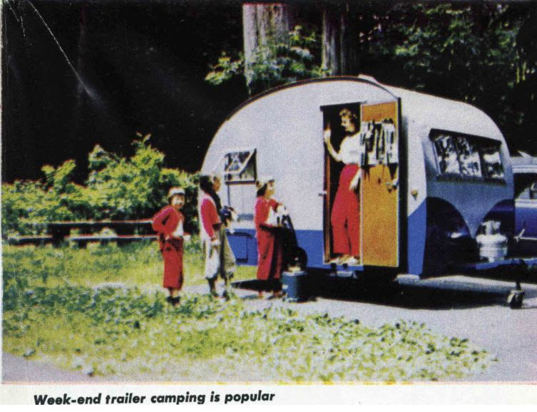 Retro Tiny Trailer 1956 brochure