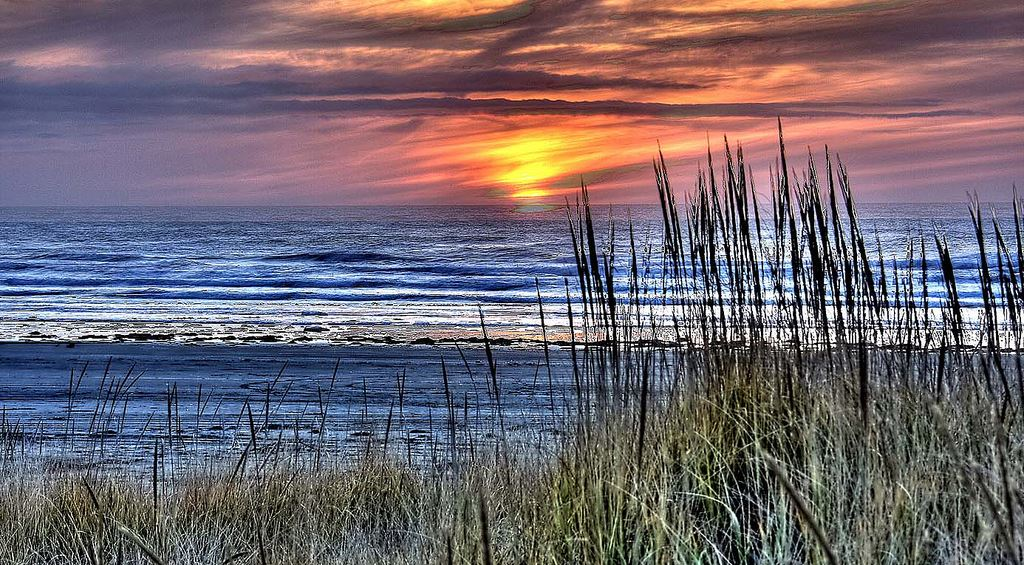 Grayland Beach sunset CC FKR martinvirtualtours