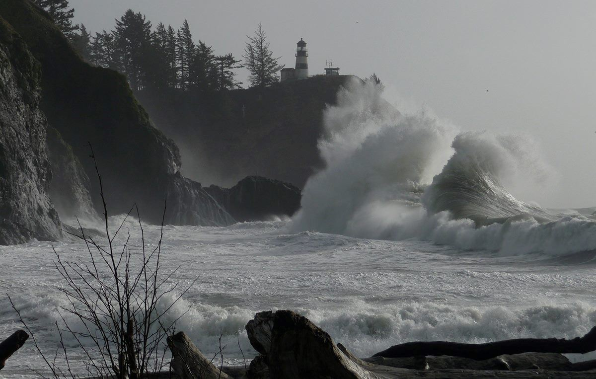 Cape Disappointment skadoosh!