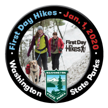 First Day Hikes Pin 2020